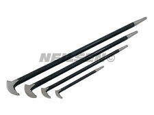 4pc Heel Bar Set Podgers Pry Toe Bar 150mm 300mm 400mm 500mm Garage Tool NEW