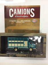 citroën 350 belphégor france 1969  camions d'autrefois 1/43 n96 altaya