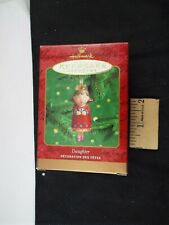 Hallmark Ornament 2000 Daughter Nib