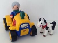 Mothercare Tolo First Friends Tractor-Figure & Horse, Lights Sounds & Movement.