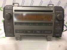2009 2010 TOYOTA Matrix OEM AM FM XM SAT Radio Stereo MP3 CD Player 86120-02710