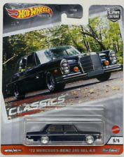 Hot Wheels Mercedes Benz 72 Modern Classics FPY86-956S 1/64