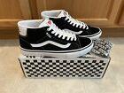 Vans Skate Mid Skool Skateboard Shoes - Men's Size 10 - Sk8 Mid