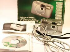 Fujifilm FinePix A Series A101 1.3 MP Digital Camera - Metallic silver