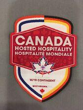 WJ19 Hosted Hospitality (HoHo) Crest - Canada