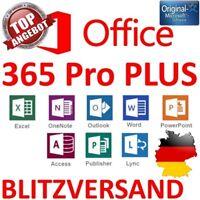 Microsoft Office 365 für 5PC ✔ 5MAC ✔ - KEIN Abo ✔ MS® Office 2016 ✔ DAUERHAFT ✔