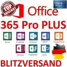 Microsoft Office 365 Professional Plus 2016 * 5 Devices PC + Mac + Smartphones