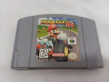 Mario Kart Nintendo 64 Game Cart Authentic Genuine Tested N64 Full Game Version