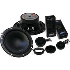 "NEW 5.25"" CerwinVega Component Car Audio Speaker Stereo Set.2 woofers.2 tweeter"