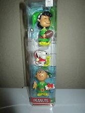 Peanuts Holiday Figures Charlie Brown Snoopy Lucy Nip