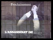 L'ASSASSINAT DE TROTSKY {ALAIN DELON} B French Movie Poster Billboard 70s