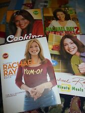 Lot 2 of Rachel ray cookbooks 30 minute meals 1 and 2 cooking round the clock