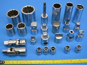 Britool Sockets / Adapters / Hex bits / Universal Joint plus more, Select Item:
