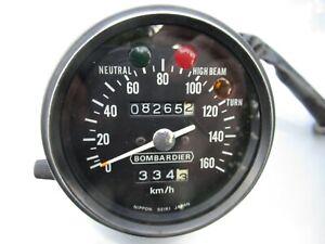 Tacho / Speedo / Speedometer Bombardier Can-Am 250cc Army made by Nippon Seiki