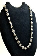 """Chunky 925 Sterling Silver Chain Necklace. 50 grams, 50 cm/19.7"""""""
