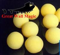 20Pcs 4.5cm Super Soft Sponge Red Balls Close-Up Magic Street Party Trick Prop