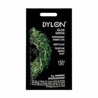 DYLON Permanant Fabric Dye Hand Dye - Olive Green - 50 gram