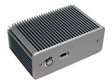 Impactics D1nu-s Intel NUC Gehäuse - Silber