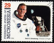 Neil Armstrong (Astronaut) First Man on Moon APOLLO XI Eagle Spacecraft Stamp