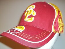 New USC Trojans Cap Hat men's stretch fit L/XL Southern California Cal Red