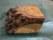 CB--CHERRY BURL DELUXE WOODTURNING/KNIFE BLOCK// CALLS/ PEN BLANKS--CB---1