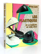 Les plastiques De la bakélite au High-Tech. Sylvia KATZ. Denoël, 1985.