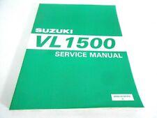 New Genuine Vintage Suzuki VL 1500 Intruder Service Manual 99500-39160-01E