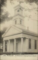 Barkhamsted CT Cong Church c1910 Real Photo Postcard