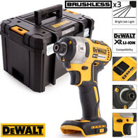 Dewalt DCF887N 18V XR Brushless 3 Speed Impact Driver With Heavy T-Stack Case