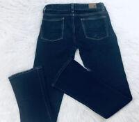 American Eagle Womens Sz 0 Short Skinny Kick Stretch Dark Wash Jeans