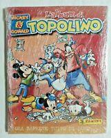 ALBUM TOPOLINO MICKEY & DONALD + SET COMPLETO FIGURINE EX SIGILLATO PANINI