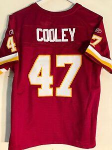 Reebok Women's Premier NFL Jersey WASHINGTON Chris Cooley Burgundy sz SMALL