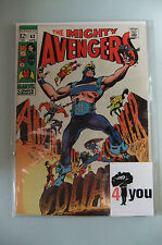 4.5 VG+ VERY GOOD+  AVENGERS  # 63 US EDITION  OW/CP  YOP 1969