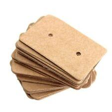 Kraft Holder Display Cards Ear Studs Hanging Cards Earring Holder Paper Cards