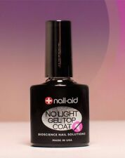 Nail-Aid NO LIGHT GEL TOP COAT Innovation + Results 15ml