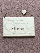 Cream Mum Hanging Plaque