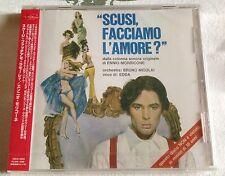 SCUSI, FACCIAMO L'AMORE? Ennio Morricone CD SEALED OST JAPAN (VQCD-10029) score