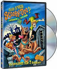NEW 2DVD set  - QUOI D'NEUF SCOOBY DOO ? 13 EPISODES - FRENCH & ENGLISH /5 Hours