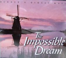 READERS DIGEST  IMPOSSIBLE DREAM  4CD,KENNY ROGERS,KATE SMITH,MARTY RAYBON