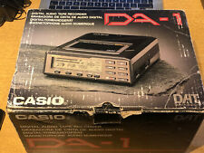 Casio Dat Recorder Da-1