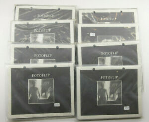 """(8) Fotoflip Refill Album Pages/Sheets - 6"""" - NEW Old Stock - P11F"""