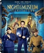 Night at the Museum: Secret of the Tomb (Blu-ray/DVD, 2015, 2-Disc Set) New