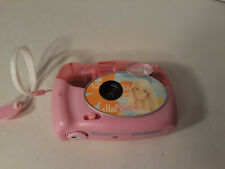 2004 Barbie 35mm Flash Camera w/Built In Flash & Film Pink Girl Mattel For Kids
