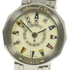 CORUM Admirals cup 88 810 27 V350 Date Ivory Dial Automatic Men's Watch_555102