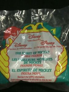 The Spirit of Mickey Mobile Figurine Rolling Toy McDonalds Happy Meal Toy 1998