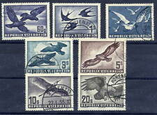 AUSTRIA 1950-53 Birds set, fine used