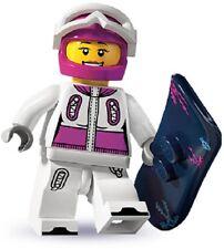 Lego minifigures serie 3 da collezione Snowboarder