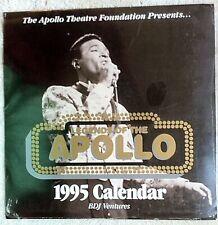 Legends Of The Apollo 1995 Calendar (Bdj) Marvin Gaye, etc. New! Sealed!