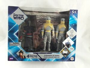 Doctor Who 4th Doctor Pyramids of Mars Figures Set by Underground Toys