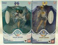 Bandai Figuarts ZERO Sailor Moon Crystal  Sailor Uranus & Sailor Neptune Set